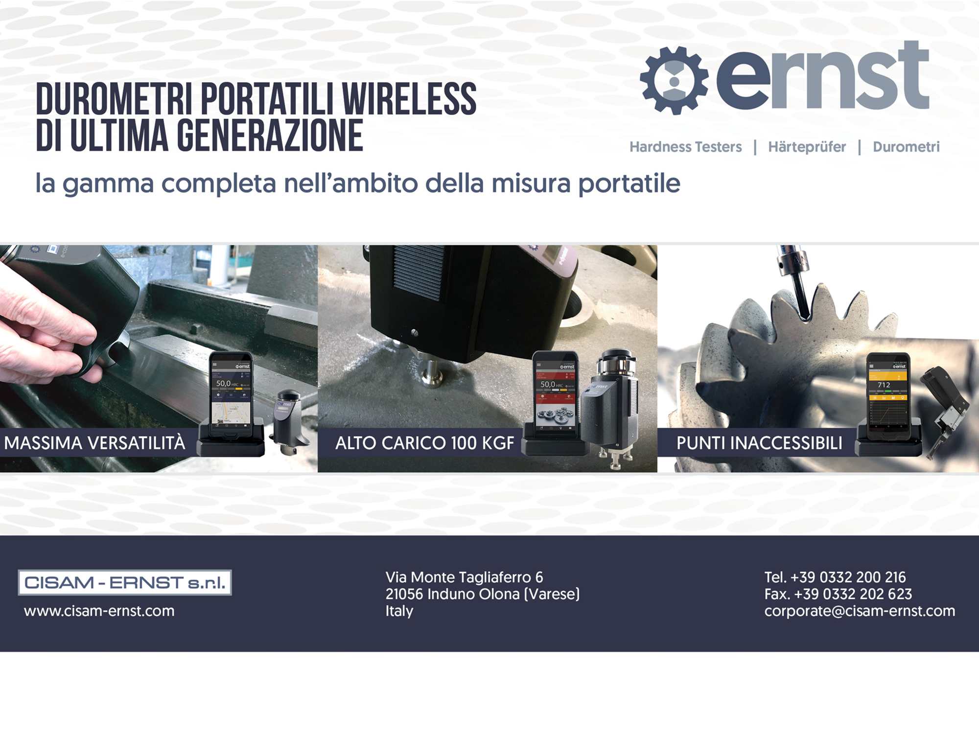 Durometri portatili wireless
