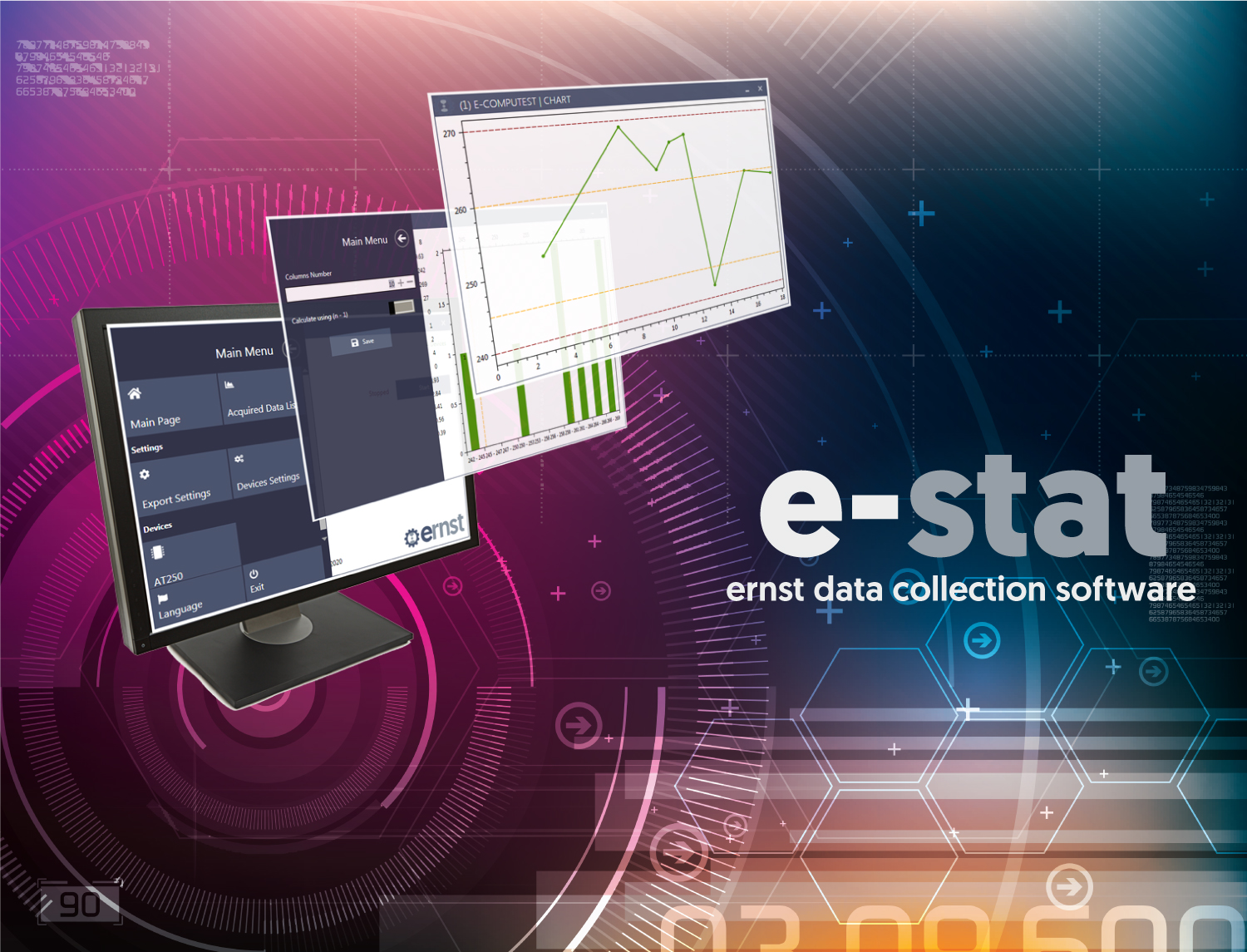 e-stat software per durometri Ernst